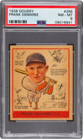 Baseball Cards:Singles (1930-1939), 1938 Goudey Frank Demaree #268 PSA NM-MT 8 - Only One Higher. ...