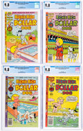 Bronze Age (1970-1979):Cartoon Character, Richie Rich and Dollar the Dog CGC-Graded Group of 4 (Harvey, 1979-82) CGC NM/MT 9.8.... (Total: 4 Comic Books)