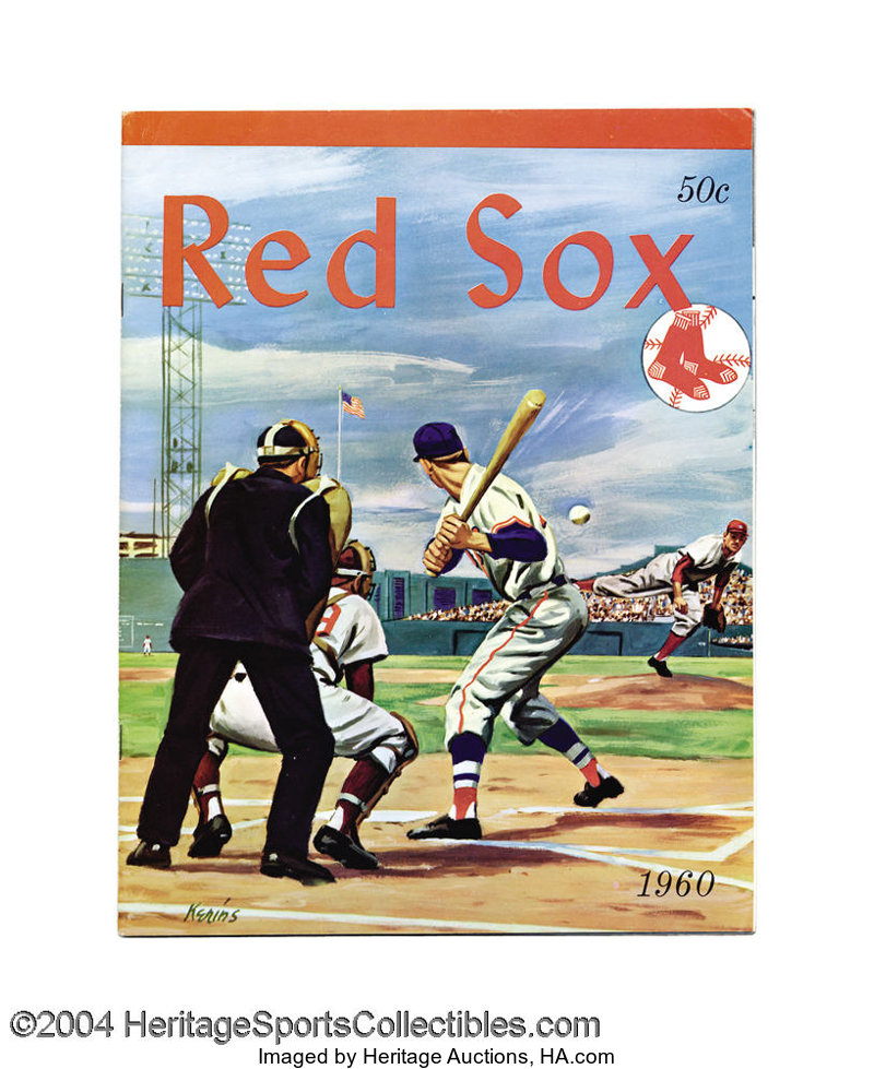 7680144b0 1960 through 1984 Boston Red Sox Yearbook Run (30) First ... (30 | Lot  #19634 | Heritage Auctions