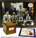 Autographs:Others, 1989 Hall of Fame Induction Collection (3) An impressive ... (3pieces)