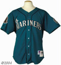 Baseball Collectibles:Uniforms, Alex Rodriguez 1995 Game Worn Mariners Rookie Jersey The ...