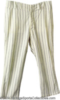 Baseball Collectibles:Uniforms, Mickey Mantle 1968 Game-Worn Pants The great career of ...