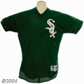 Autographs:Jerseys, Late 1990's Keith Foulke St. Patrick's Day Game-Worn Jersey ... (2items)