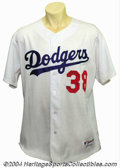 Baseball Collectibles:Uniforms, 2003 Eric Gagne Game-Worn Jersey We can guarantee this -- ...