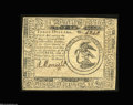 Colonial Notes:Continental Congress Issues, Continental Currency May 10, 1775 $3 Choice About New. A ...