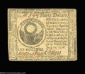 Colonial Notes:Continental Congress Issues, Continental Currency July 22, 1776 $30 Very Fine-Extremely ...