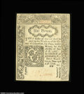 Colonial Notes:Connecticut, Connecticut June 19, 1776 6d Very Choice New. The note has ...