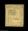 Colonial Notes:Delaware, Delaware January 1, 1776 10s Choice About New. This nice ...