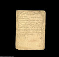 Colonial Notes:Massachusetts, Massachusetts August 18, 1775 5s Very Fine. Although ...