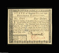 Colonial Notes:Rhode Island, Rhode Island July 2, 1780 $4 Superb Gem New. Fully signed ...