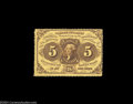 Fractional Currency:First Issue, Fr. 1228 5c First Issue Choice New. Wonderful deep ...