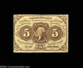 Fractional Currency:First Issue, Fr. 1229 5c First Issue Choice New. A very nice no-...