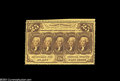 Fractional Currency:First Issue, Fr. 1279 25c First Issue Very Choice New. A strictly ...