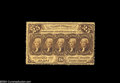 Fractional Currency:First Issue, Fr. 1279 25c First Issue Choice New. Beautifully bright ...