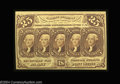 Fractional Currency:First Issue, Fr. 1282 25c First Issue Very Choice New. A rare note in ...