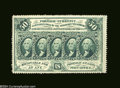Fractional Currency:First Issue, Fr. 1310 50c First Issue Gem New. Deep perforations all ...