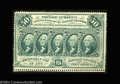 Fractional Currency:First Issue, Fr. 1310 50c First Issue Gem New. A gorgeous example of a ...