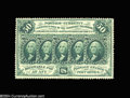Fractional Currency:First Issue, Fr. 1310 50c First Issue Very Choice New. Fully and deeply ...