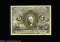 Fractional Currency:Second Issue, Fr. 1235 5c Second Issue Gem New. An extraordinarily nice ...