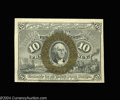 Fractional Currency:Second Issue, Fr. 1244 10c Second Issue Gem New. The bottom face margin ...