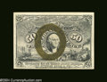 Fractional Currency:Second Issue, Fr. 1318 50c Second Issue Choice New. The face margins are ...