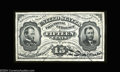Fractional Currency:Third Issue, Fr. 1272SP 15c Third Issue Narrow Margin Pair About New. ... (2 items)