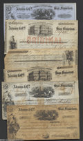 Miscellaneous:Other, Adams & Co. Certificates of Deposit and Bills of Exchange.