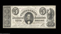 Confederate Notes:1861 Issues, T34 $5 1861. This high grade example has beautifully broad ...