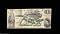 Confederate Notes:1862 Issues, T45 $1 1862. An above average example of the scarcer Ace ...