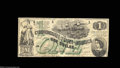 Confederate Notes:1862 Issues, T45 $1 1862. This example has bold colors and crisp paper ...