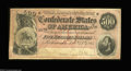 Confederate Notes:1864 Issues, T64 $500 1864. A decent circulated example with the low ...