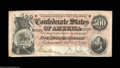 Confederate Notes:1864 Issues, T64 $500 1864. Always a popular type, featuring a portrait ...