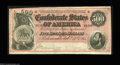 Confederate Notes:1864 Issues, T64 $500 1864. A nice example of the high serial number ...