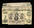 Confederate Notes:Group Lots, Money of the Rebellion
