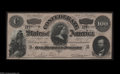 Confederate Notes:Group Lots, A Small Confederate Group... (3 notes)