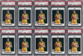 Basketball Cards:Lots, 2007 Topps Kevin Durant #2 PSA Gem Mint 10 Collection (10) - His Rookie Year Debut. ...