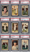 "Baseball Cards:Lots, 1952 Berk Ross ""Hit Parade of Champions"" PSA NM-MT 8 Collection (23). ..."