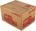 Basketball Cards:Unopened Packs/Display Boxes, 1988 Fleer Basketball Factory Sealed Wax Case with 12 Unopened Boxes. ...