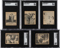 "Baseball Cards:Sets, 1948 Swell Bubble Gum ""Babe Ruth Story"" Complete Set (28). ..."