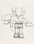 Collectible, KAWS X NGV. Companionship in the Age of Loneliness, 2019. Hardcover book with print. 16-3/4 x 13-1/2 x 2 inches (42.5 x ...