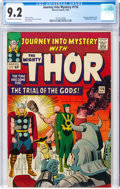 Silver Age (1956-1969):Superhero, Journey Into Mystery #116 (Marvel, 1965) CGC NM- 9.2 Off-white to white pages....