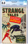 Silver Age (1956-1969):Superhero, Strange Tales #106 (Marvel, 1963) CGC VF 8.0 Off-white to white pages....