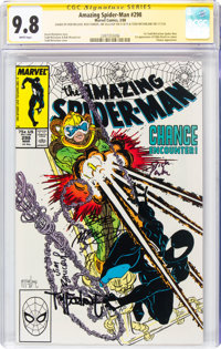 The Amazing Spider-Man #298 Signature Series: Todd McFarlane and Others (Marvel, 1988) CGC NM/MT 9.8 White pages