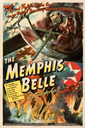"""Movie Posters:War, The Memphis Belle (Paramount, 1944). Fine+ on Linen. One Sheet (27.25"""" X 41"""").. ..."""