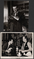 "Movie Posters:Academy Award Winners, The Lost Weekend (Paramount, 1945). Fine/Very Fine. Photo (8"" X 10"") & Trimmed Photo (Approx. 7.5"" X 9.5""). Academy Award Wi... (Total: 2 Items)"