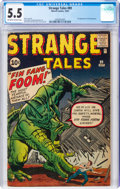 Silver Age (1956-1969):Adventure, Strange Tales #89 (Marvel, 1961) CGC FN- 5.5 Off-white to white pages....