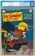 Golden Age (1938-1955):Superhero, Star Spangled Comics #90 (DC, 1949) CGC VF+ 8.5 Cream to off-white pages....