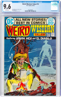Weird Western Tales #13 (DC, 1972) CGC NM+ 9.6 White pages