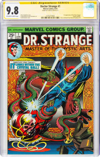 Doctor Strange #1 Signature Series - Stan Lee (Marvel, 1974) CGC NM/MT 9.8 Off-white to white pages