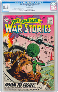 Star Spangled War Stories #77 (DC, 1959) CGC VF+ 8.5 Off-white pages
